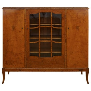 1920s Swedish Bookcase For Sale