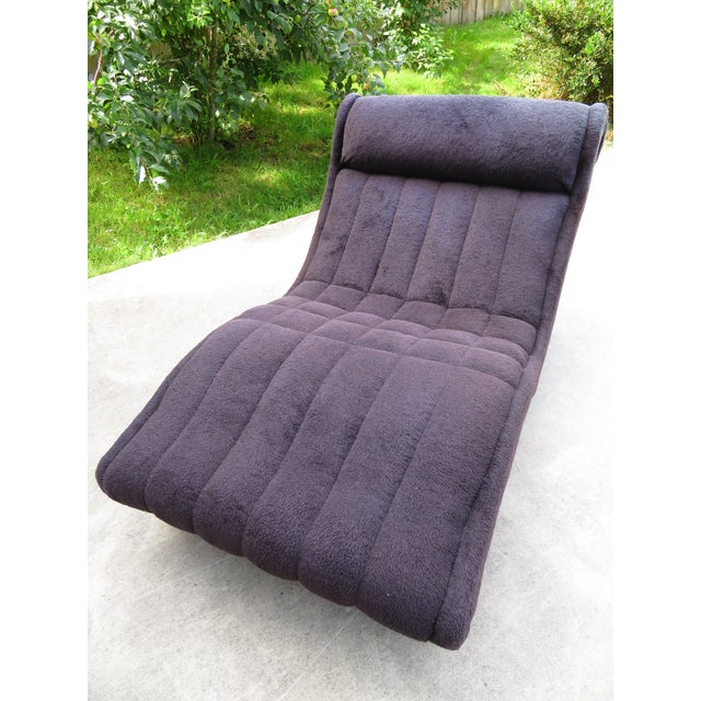 1970s Vintage Adrian Pearsall Style Wave Chaise For Sale In Seattle - Image 6 of 11