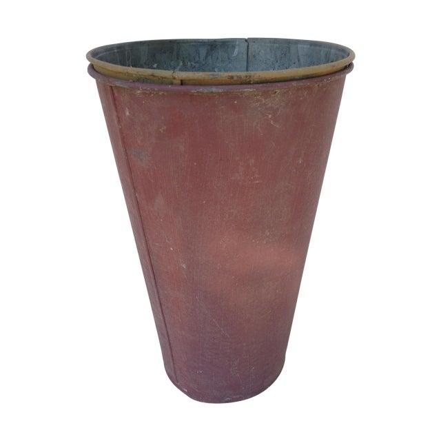 Vintage Painted Sap Bucket - Image 1 of 9