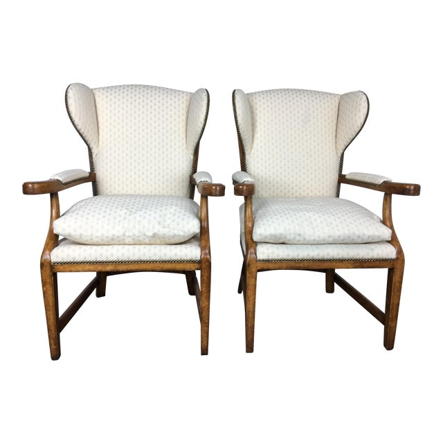 Minton-Spidell English Barber Chairs - a Pair - Image 1 of 10