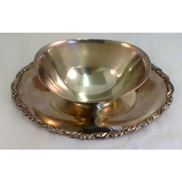 Vintage Oneida Silver Plate Gravy Boat - Image 3 of 5