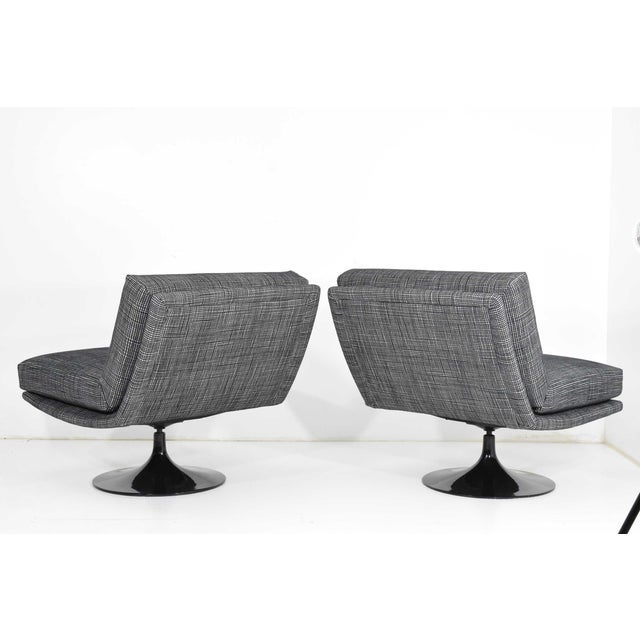 Adrian Pearsall for Craft Associates Swivel Chairs For Sale In Dallas - Image 6 of 10