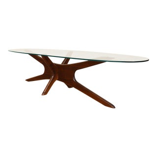 Adrian Pearsall Walnut Coffee Table For Sale