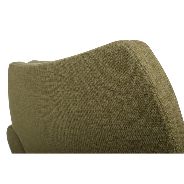 Johannes Andersen Lounge Chair in Olive - Image 11 of 11