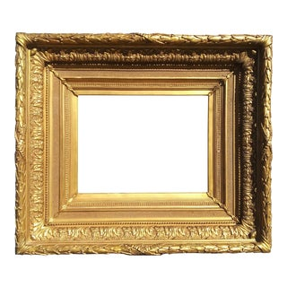 """19th Century American Frame, Acanthus Leaf and Strap Ornament 15 3/4"""" X 20 1/2"""" (Routable to 16 X 20) For Sale"""