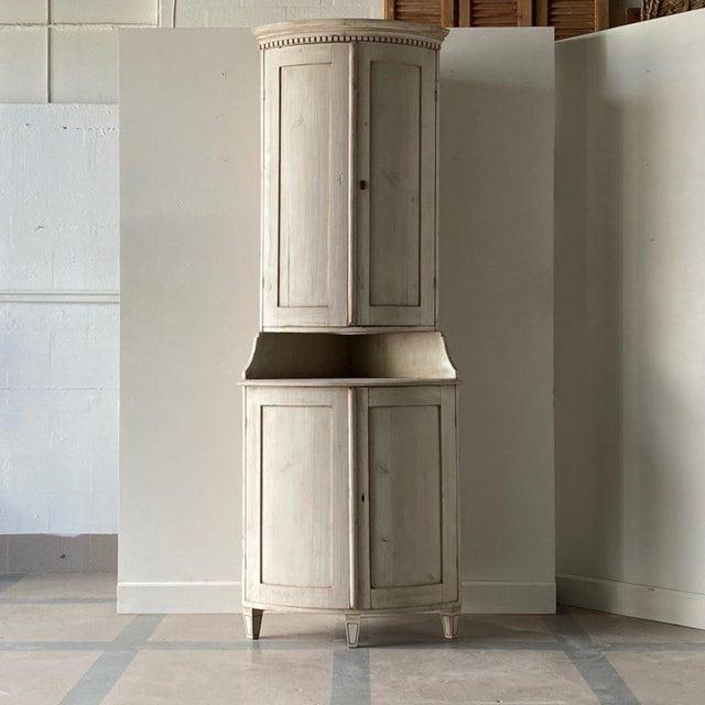 Antique Gustavian Corner Cabinet For Sale - Image 13 of 13