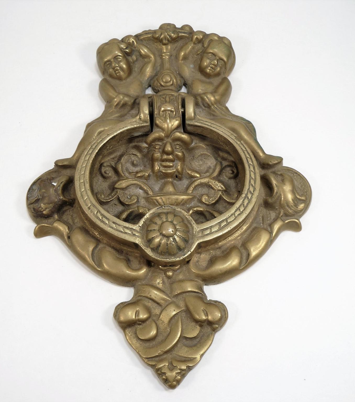 Elegant Vintage Cherubs U0026 Victorian Faces Door Knocker   Image 8 ...