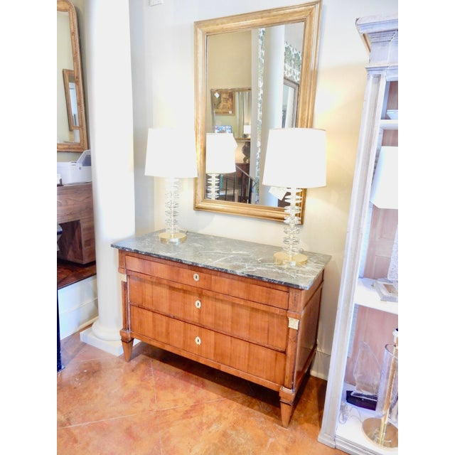 Early 19th Century Biedermeier Walnut Commode For Sale - Image 12 of 13