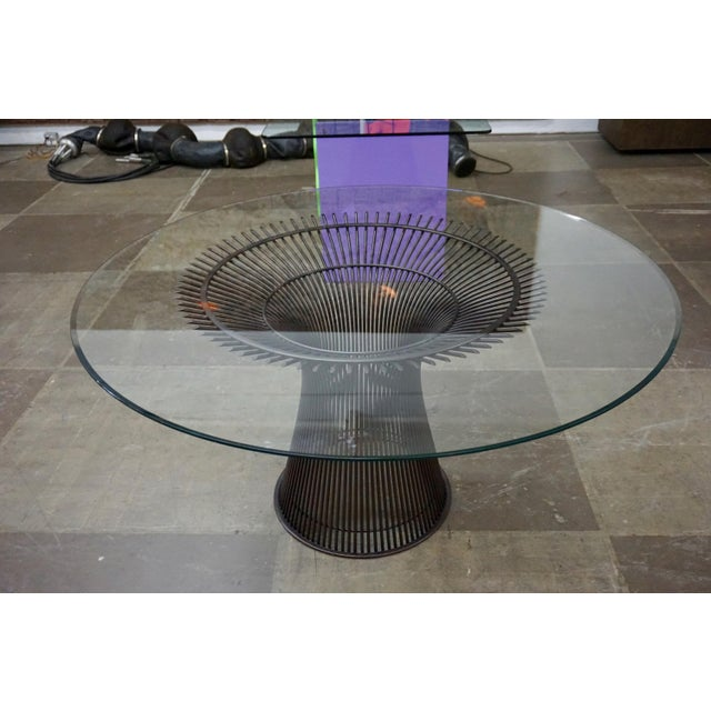 Mid-Century Modern Warren Platner Dining Table for Knoll For Sale - Image 3 of 8