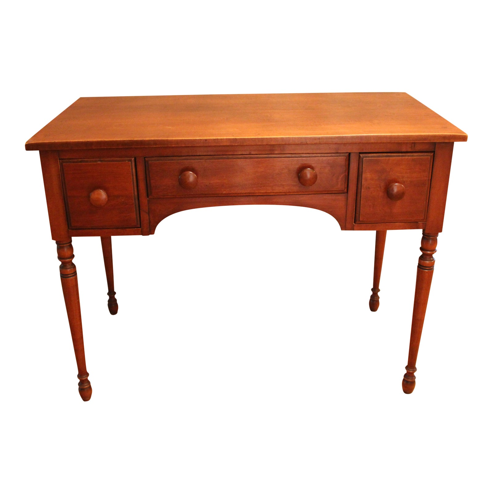 Table Dressing Wood 1950 Scarved ~ S maple wood dressing table chairish
