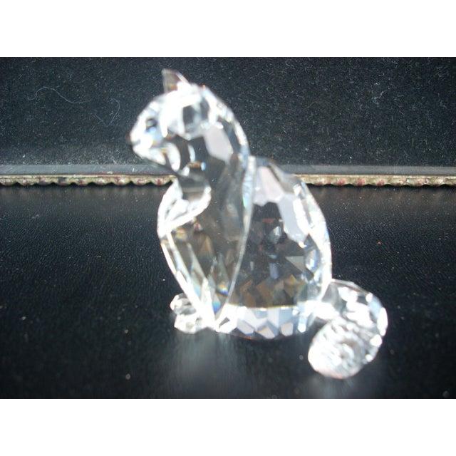 Swarovski Crystal Cat Figure - Image 4 of 4
