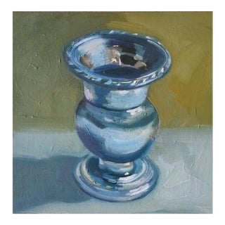 """Candle Holder"" Oil Painting For Sale"