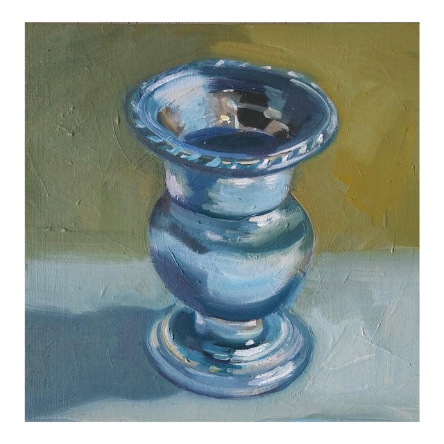 """""""Candle Holder"""" Oil Painting For Sale"""