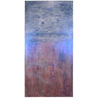 2019 Carol Post My Favorite Things Venetian Plaster and Acrylic on Canvas Painting For Sale