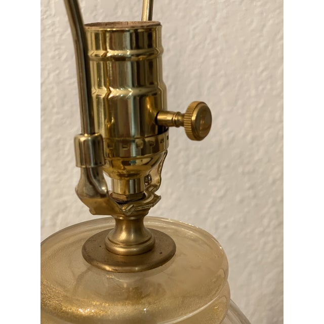20th Century Murano Table Lamps, Italian Lamps by Barovier & Toso For Sale - Image 10 of 12