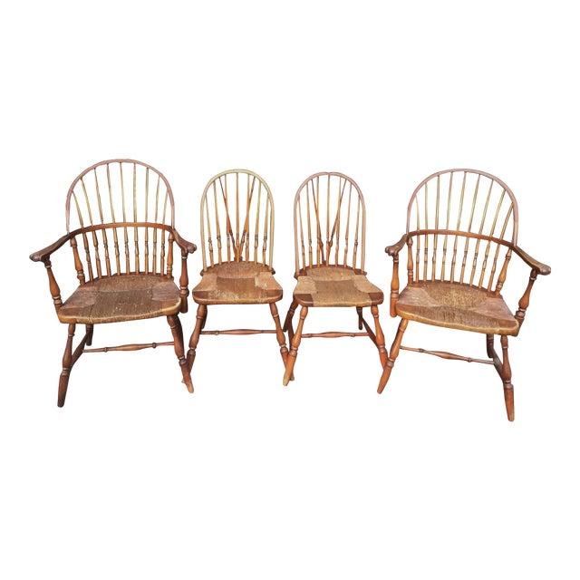 1920s Barnard & Simonds Co. Chairs - Set of 4 - Image 1 of 11