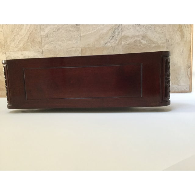 Solid Rosewood Console Table - Image 4 of 6