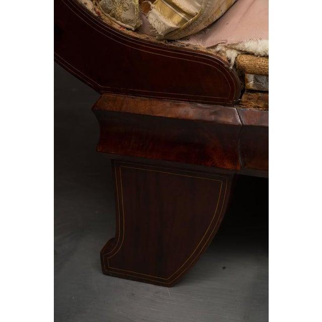 Biedermeier 19th Century Mahogany Biedermeirer Sofa For Sale - Image 3 of 10