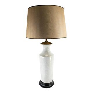 Vintage Japanese Asian Pate-Sur-Pate Lamp For Sale