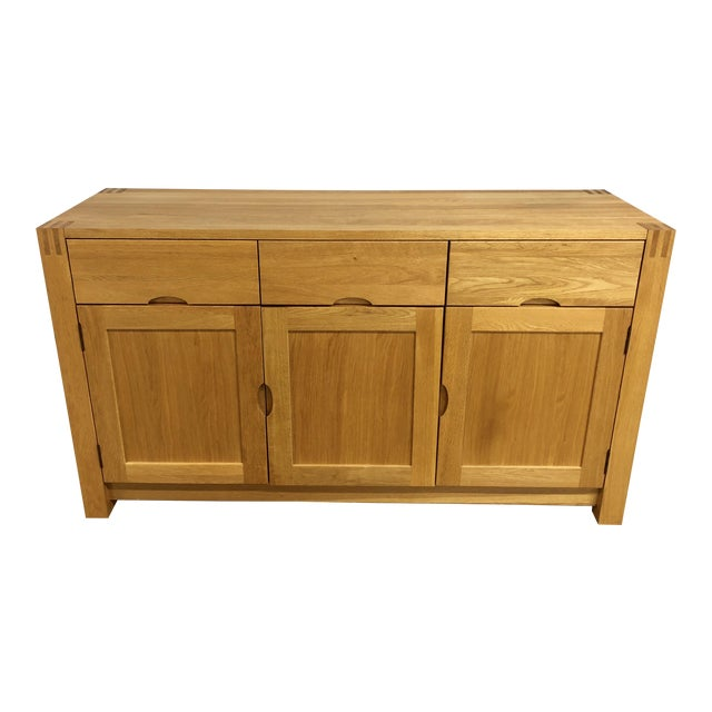 1900s Danish Modern Oak Dresser For Sale