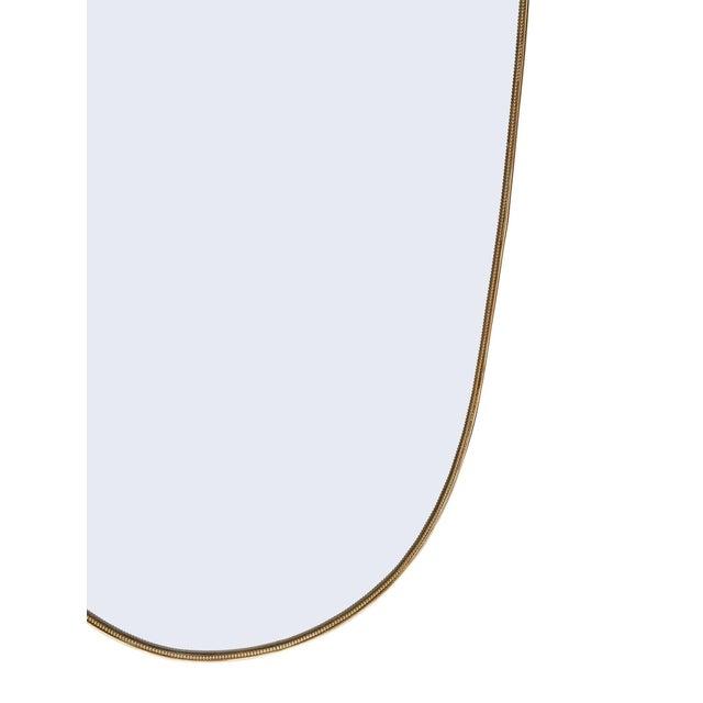 Metal Italian Art Deco Period Mirror For Sale - Image 7 of 10
