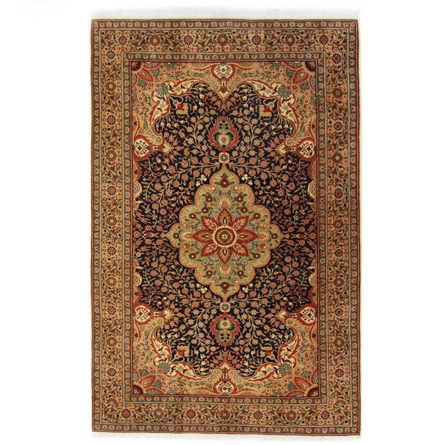Vintage Kayseri Turkish Carpet - 4′10″ × 7′3″ For Sale