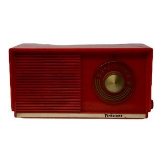 Working Vintage Firestone Radio For Sale