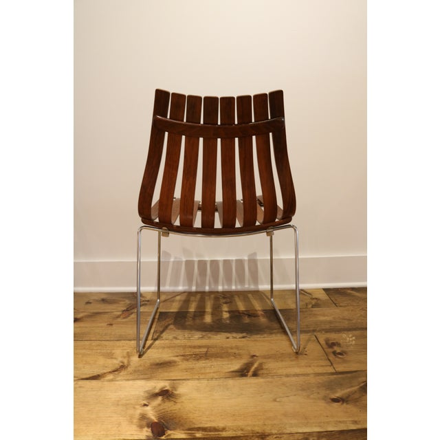 Skandia Rosewood Dining Chairs - Set of 4 - Image 5 of 10