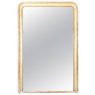 19th Century Louis Philippe Giltwood Mirror For Sale