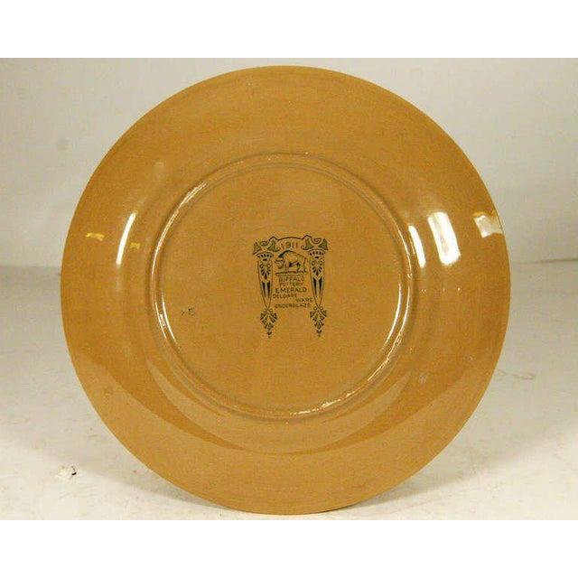 "Buffalo Pottery Deldare ""Misfortune at Tulip Hall"" Plate - Image 3 of 4"