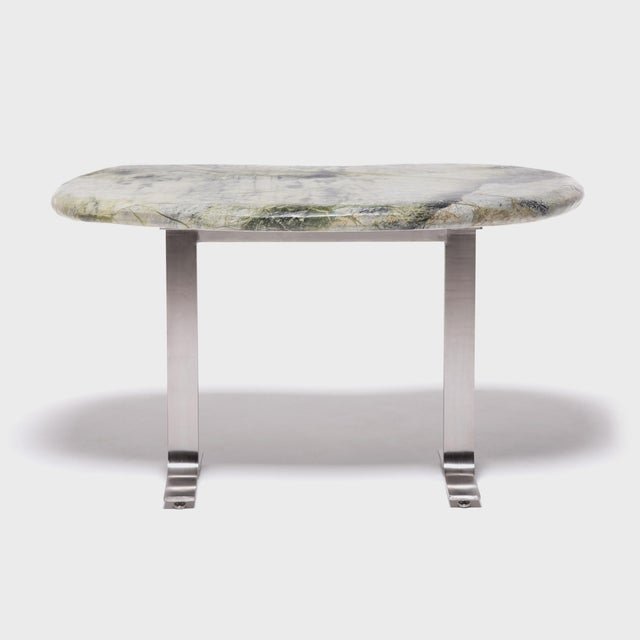 Early 21st Century Meditation Stone Top Desk For Sale - Image 5 of 8