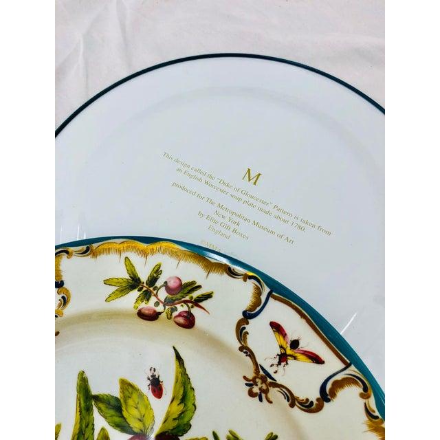 Vintage Floral & Fruit Motif Serving Plates - Set of 3 For Sale - Image 4 of 6