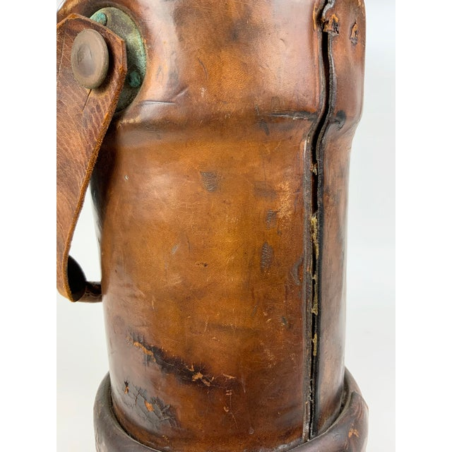 Early 19th Century Leather Ammunition Bucket For Sale In Los Angeles - Image 6 of 13