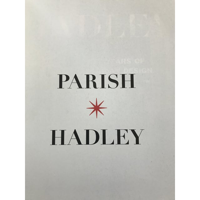 Parish-Hadley: Sixty Years of American Design Hardcover – November 1, 1995