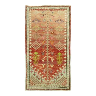 Antique Turkish Anatolian Rug, 2'4'' X 4'3'' For Sale