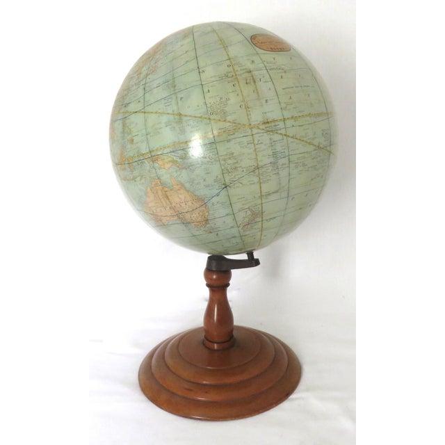 Antique Rand McNally Twelve Inch Terrestrial Globe - Atlas For Sale - Image 13 of 13