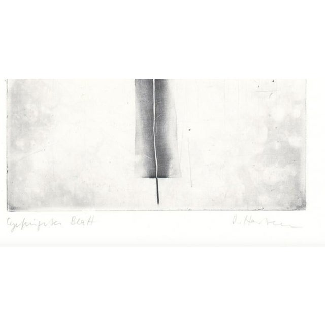 Abstract 1970s Abstract Black and White Etching For Sale - Image 3 of 5