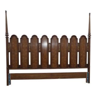 Vintage Hellam Furniture Company King Size Headboard ~ Bed Frame