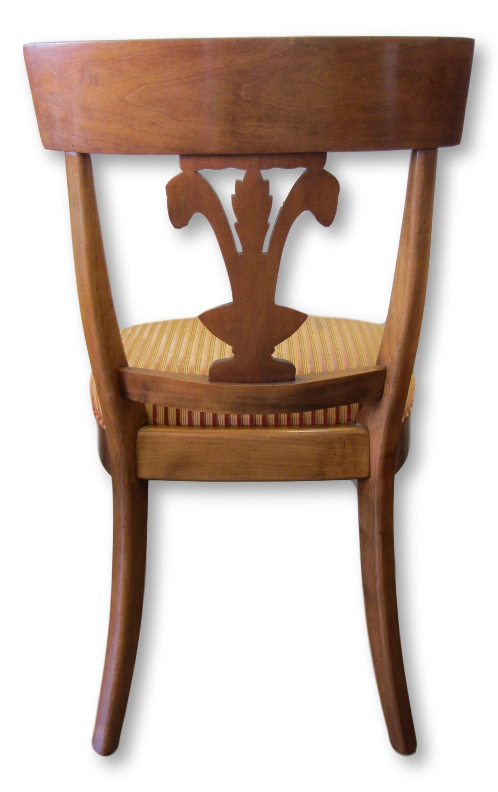 Roche Bobois Fleur De Lis Dining Chairs   Set Of 8   Image 5 Of 10
