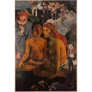 "1950s Paul Gauguin ""Contes Barbares"", First Edition Lithograph For Sale"