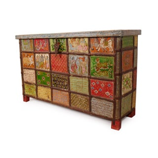 Rajasthan Painted Dowry Trunk Preview