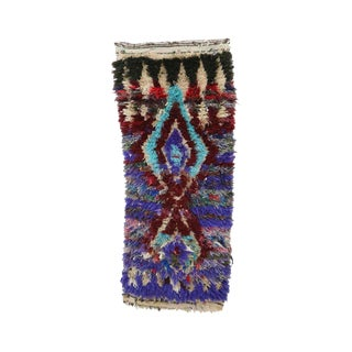 1980s Azilal Moroccan Rug - 6′6″ × 15′2″ For Sale