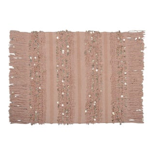 """New Moroccan Inspired Limited Edition Sequin Floor Pillow Sham BLUSH 26 """" x 26"""""""