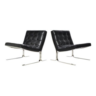 Nicos Zographos Pair of Lounge Chairs For Sale