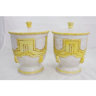 Large 1950s Italian Pottery Jars Preview