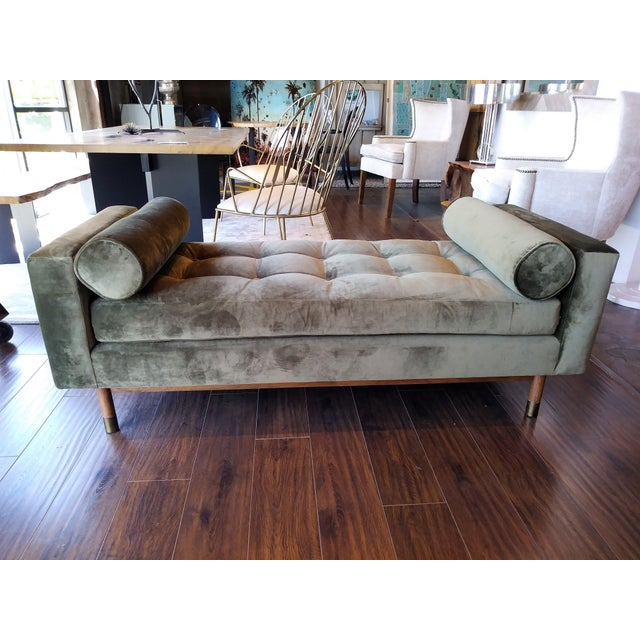 Jaxon Home Fontaine Tufted Day Bed For Sale - Image 5 of 6