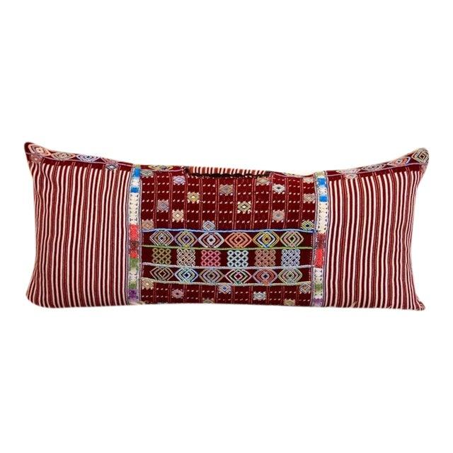 """The Ella"" Guatemalan Pillow For Sale"