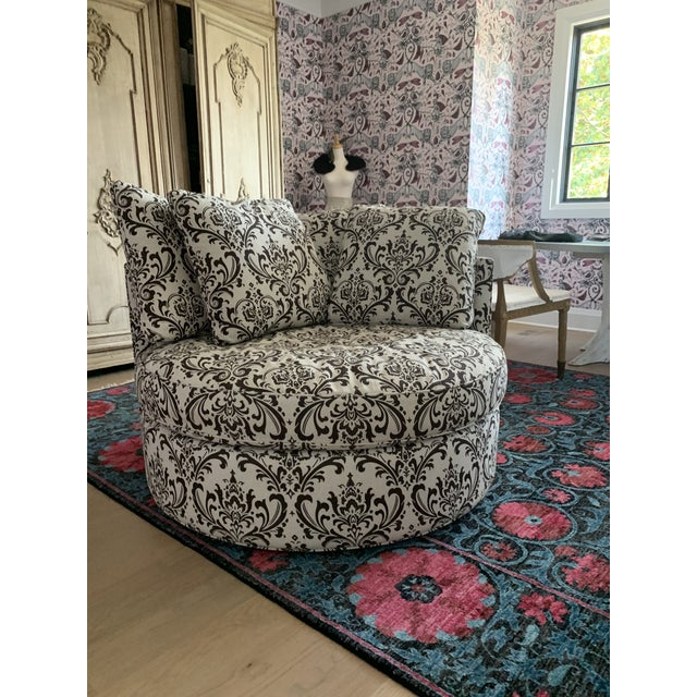 Marvelous Arhaus Round Swivel Chair Onthecornerstone Fun Painted Chair Ideas Images Onthecornerstoneorg