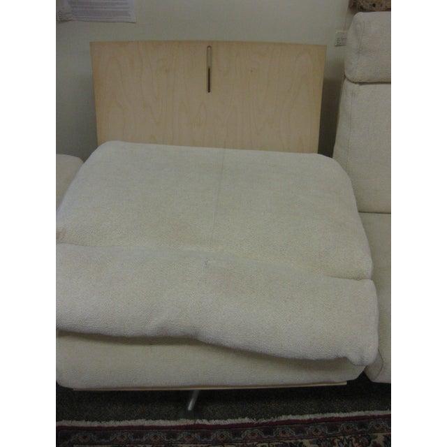 Mid-Century Modern B & B Italia Reclining Sofa For Sale - Image 3 of 6