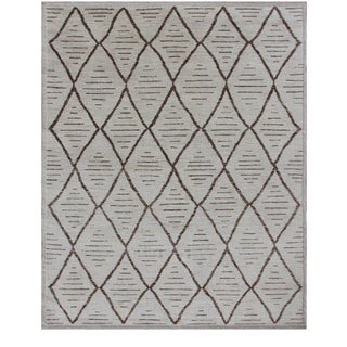 """Hand Knotted Navajo Rug - 8'2"""" X 10'1"""" For Sale"""